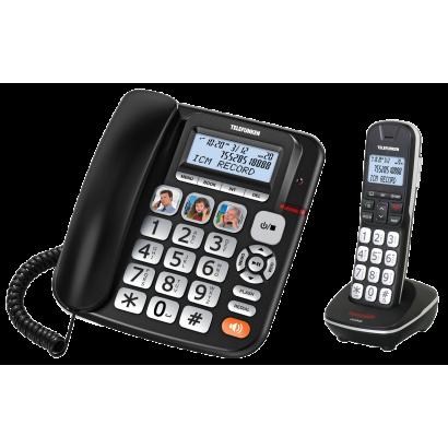 TÉLÉPHONE FILAIRE + COMBINÉ SANS FIL TF 952 COSI COMBO