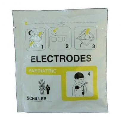 SCHILLER ELECTRODES DE DEFIBRILLATION PEDIATRIQUE POUR FRED PA-1 ET DG T7